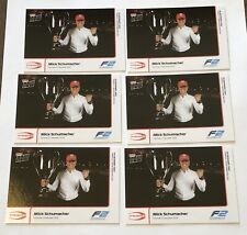 2020 TOPPS NOW Formula 1 F1 Mick Schumacher F2 Champion #22. 6 x lot