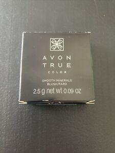 Avon Smooth Minerals Blush Perfect Plum Brand New