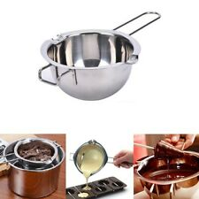 Melting Pot Pan Chocolate Cheese Caramel Butter Wax Melting Stainless Steel UK