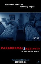 PARANORMAL ACTIVITY 3 27X41 AUTHENTIC DOUBLE SIDED THEATRE RELEASE POSTER