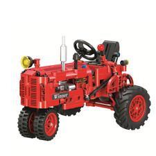 Baukästen Stadt Serie klassischer Traktor Spielze Figur Modell Geschenk 352PCS