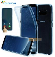 COQUE ANTICHOC Gel Intégrale FULL COVER Bleu / SAMSUNG Galaxy S8