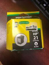 INKJET CARTRIDGES FOR DUMMIES HP 21 BLACK INK CARTRIDGE REMANUFATURED Exp 9/2020