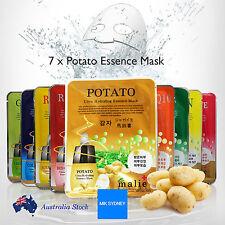7x Potato Collagen Mask Sheet Korea Beauty Facial Skin Care Essence Moisturise