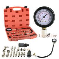 """Diesel Engine Compression Cylinder Pressure Meter Tester 3"""" Gauge 1000PSI 70 Bar"""