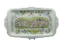 Rare Brambly Hedge Picnic Sandwich Plate - Royal Doulton - Excellent 1st Quality
