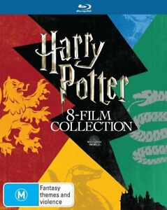 HARRY POTTER 8 Film Complete Collection Blu-ray (Region B) Eight 1-8