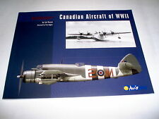 Aviazione Canadese Canadian Aircraft of WWII  / Carl Vincent