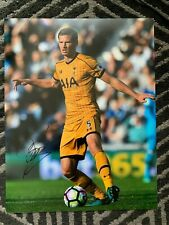 Tottenham Hotspur Jan Vertonghen Autographed Signed 11x14 Photo Coa #2