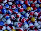 20 MIXED VINTAGE VITRO AGATE MARBLES FROM A LARGE MIXED LOT $4.99 LOT #b