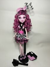 Monster High Exchange Student Draculaura Doll with Stand And Purse Mattel
