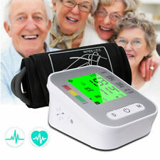 Blutdruckmessgerät Oberarm Großes LCD Display und Manschette Blutdruck Messgerät