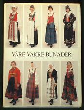BOOK Norwegian Bunad Fashion ethnic folk costume European clothing Hardanger art