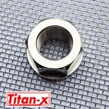 M22 Titanium Flange Nuts  1.5 pitch
