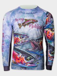 Area Jersey - Trikot Barsch angeln Raubfisch Fishing