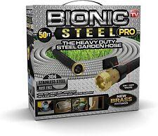 Bionic Steel Pro Heavy Duty Stainless Steel Metal Garden Hose 2020 Model