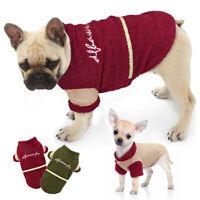 Hundemantel Hundejacke Hundeweste Winterjacke Chihuahua Hundekleidung XS-XL Rot