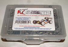 ASSOCIATED RC8Be/FACTORY RC SCREWZ SCREW SET STAINLESS STEEL ASS035