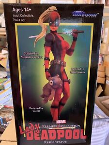 Marvel Premier Lady Deadpool 12-Inch Collectible Resin Statue