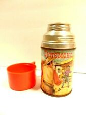 vintage 1959 Gunsmoke lunch box thermos made by Aladdin