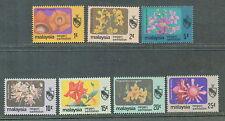 Negeri Sembilan flowers definitive 7v 1979 mnh # M20