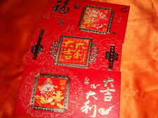 2012 Kodi Engineering Services, Hologram Hongbao Envelops, Set of 3 pieces