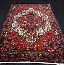 Orient Teppich Beige 290 x 200 cm Rot Perserteppich Old Carpet Rug Tappeto Tapis