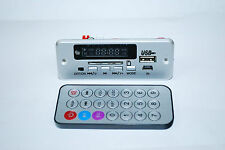 Car 5V MP3 Audio Decoder Bluetooth with 2x3w  speaker  usb/sd card+Remote  A034