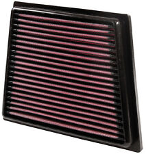 K&N Air Filter Element 33-2955 (Performance Replacement Panel Air Filter)