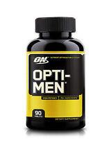 2 X on Optimen 90 Tablets 180 Tabs Optimum Nutrition Multivitamin Opti-men