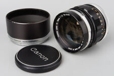 Canon FL 58mm f/1.2 f1.2 Prime Manual Focus Lens, FL FD Mount