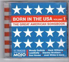 (GQ721) Born In The USA Vol 1, 15 tracks various artists - 2006 - Mojo CD
