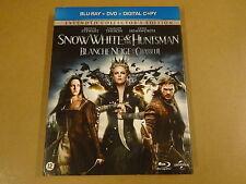 BLU-RAY + DVD / SNOW WHITE & THE HUNTSMAN ( KRISTEN STEWART )