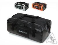 DrySpec D38 Rigid Waterproof Motorcycle Dry Bag (Black 38L)