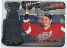 1998-99 Be A Player Playoff Highlights 17 Sergei Fedorov