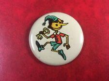 USSR PIN VINTAGE.Russia Button Badge Soviet PINOCCHIO BURATINO. ORIGINAL