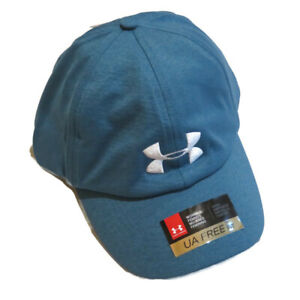 Under Armour Microthread Twist Renegade Adjustable Hat Cap NWT NEW Womens Blue