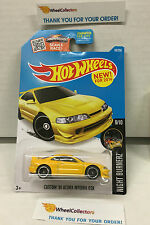 Custom '01 Acura Integra GSR #89 * YELLOW * 2016 Hot Wheels USA * H115