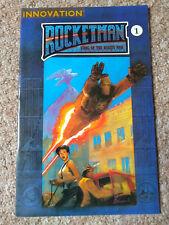 ROCETMAN: KING OF THE ROCKETMEN # 1 (1991) INNOVATION (NM Condition)
