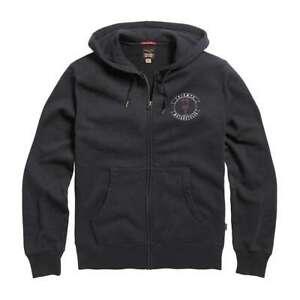 Triumph Motorcycles Piston Zip Hoodie - Black | UK Stock | Free Delivery