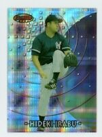1997 Bowman's Best HIDEKI IRABU Rookie Card RC ATOMIC REFRACTOR #149 NY YANKEES
