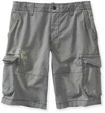 "75% OFF! AUTH AEROPOSTALE HOUNDSTOOTH CARGO SHORTS SIZE 32 / 35"" BNWT US$49.5"