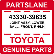 43330-39635 Toyota OEM Genuine JOINT ASSY, LOWER BALL, FRONT, RH/LH