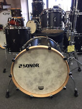 Sonor SQ1 12-16-22 Drum Set Kit GT Black w/Satin Hoops $2499.99