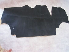 1978-1981  camaro and firebird black carpet trunk mat with jute