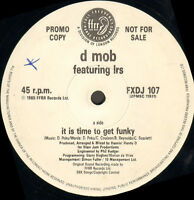 D MOB - De Is Time To Get Funky / TRANCE DANCE - Ffrr