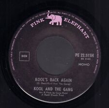 "KOOL AND THE GANG – Kool's Back Again (1969 DUTCH PINK ELEPHANT VINYL SINGLE 7"")"