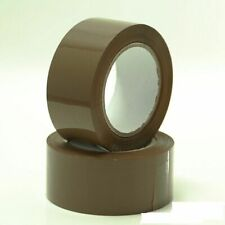 "1 X Brown 2"" Adhesive Tape Roll Cartoon Box Sealing Packing 40mtr (44 YD 131 ft)"