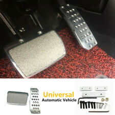 Car Truck Foot Pedals Plate Pad Brake Transmission Non-Slip Automatic Aluminum
