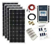 600w Mono Solar Panel Kit MPPT controller 24V battery charging cable bracket K4M